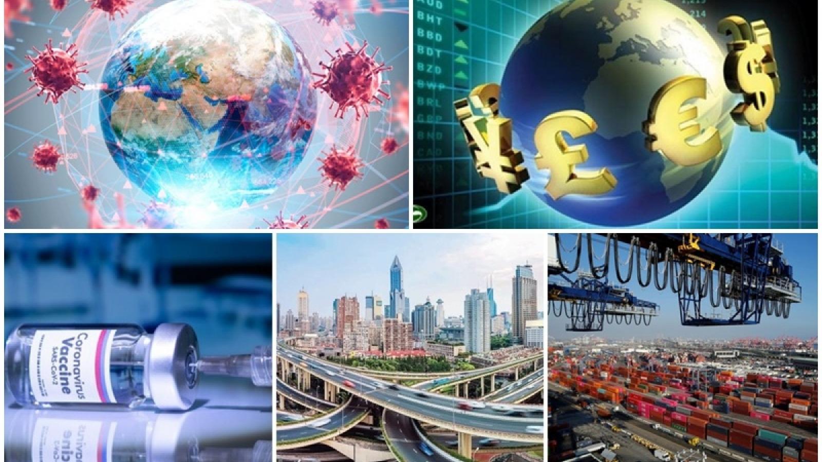 Ba khuynh hướng, bốn đặc thù của kinh tế thế giới trong năm 2021