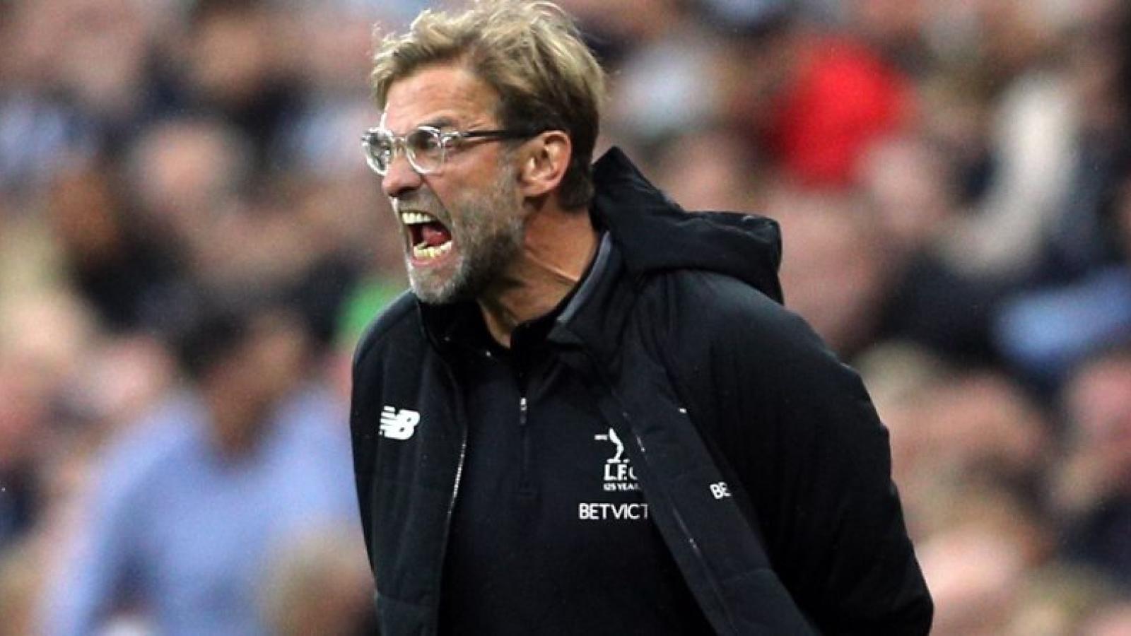 """HLV Klopp """"cay đắng"""" lý giải nguyên nhân Liverpool thua Chelsea"""