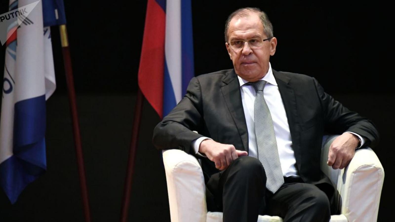 Ông Lavrov: Trừng phạt Nga và Trung Quốc là không khôn ngoan