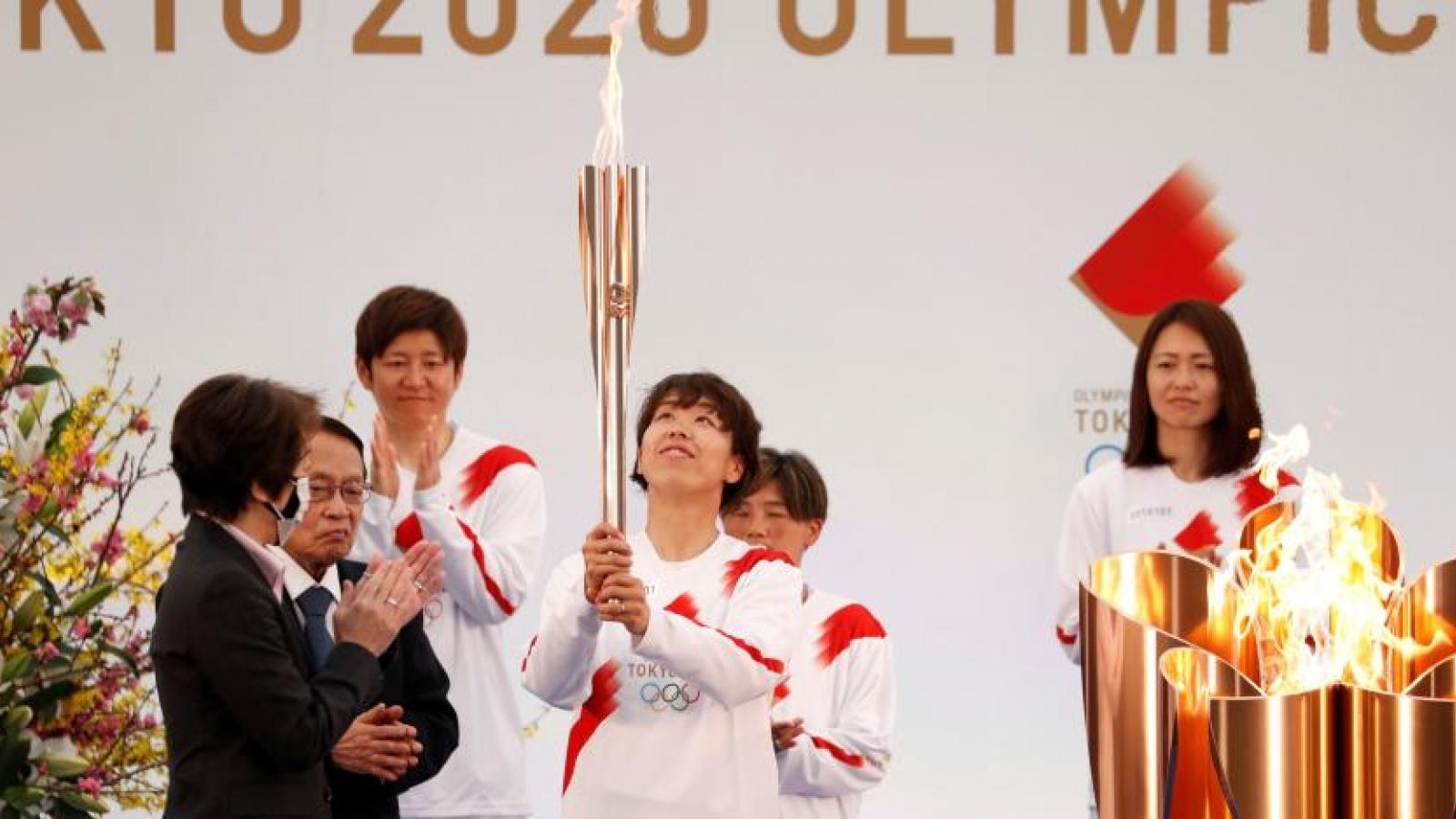 Nhật Bản: Khai mạc Lễ rước đuốc Olympic Tokyo