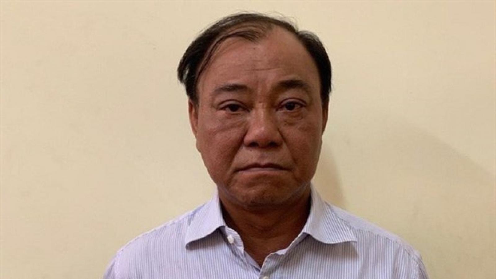 Ông Lê Tấn Hùng nộp lại 3,4 tỷ đồng đã tham ô
