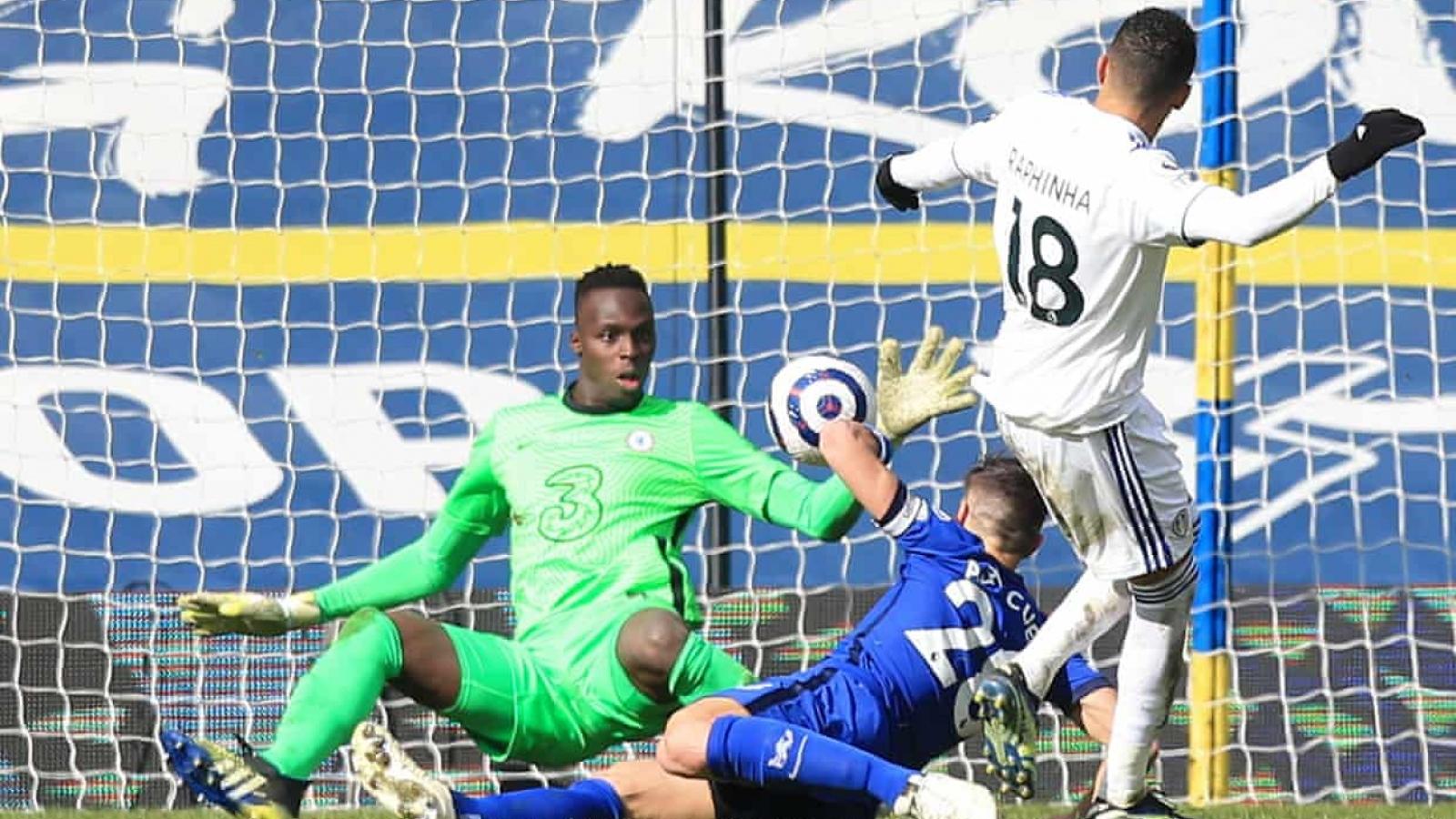 Bị Leeds cầm chân, Chelsea có nguy cơ mất vị trí top 4 Premier League