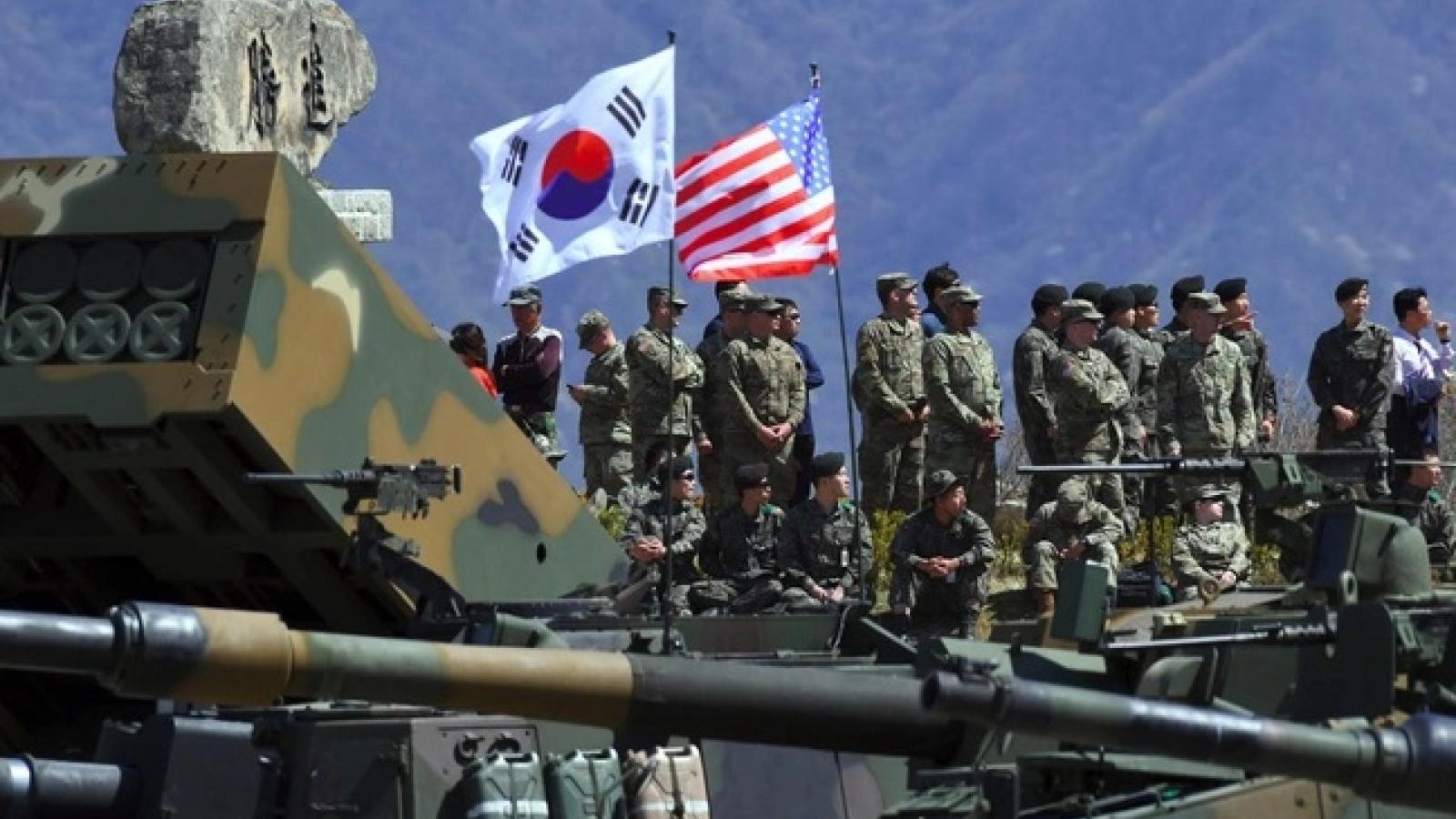 Chia sẻ chi phí lính Mỹ đồn trú – Mỹ, Hàn Quốc đạt thỏa thuận trên nguyên tắc