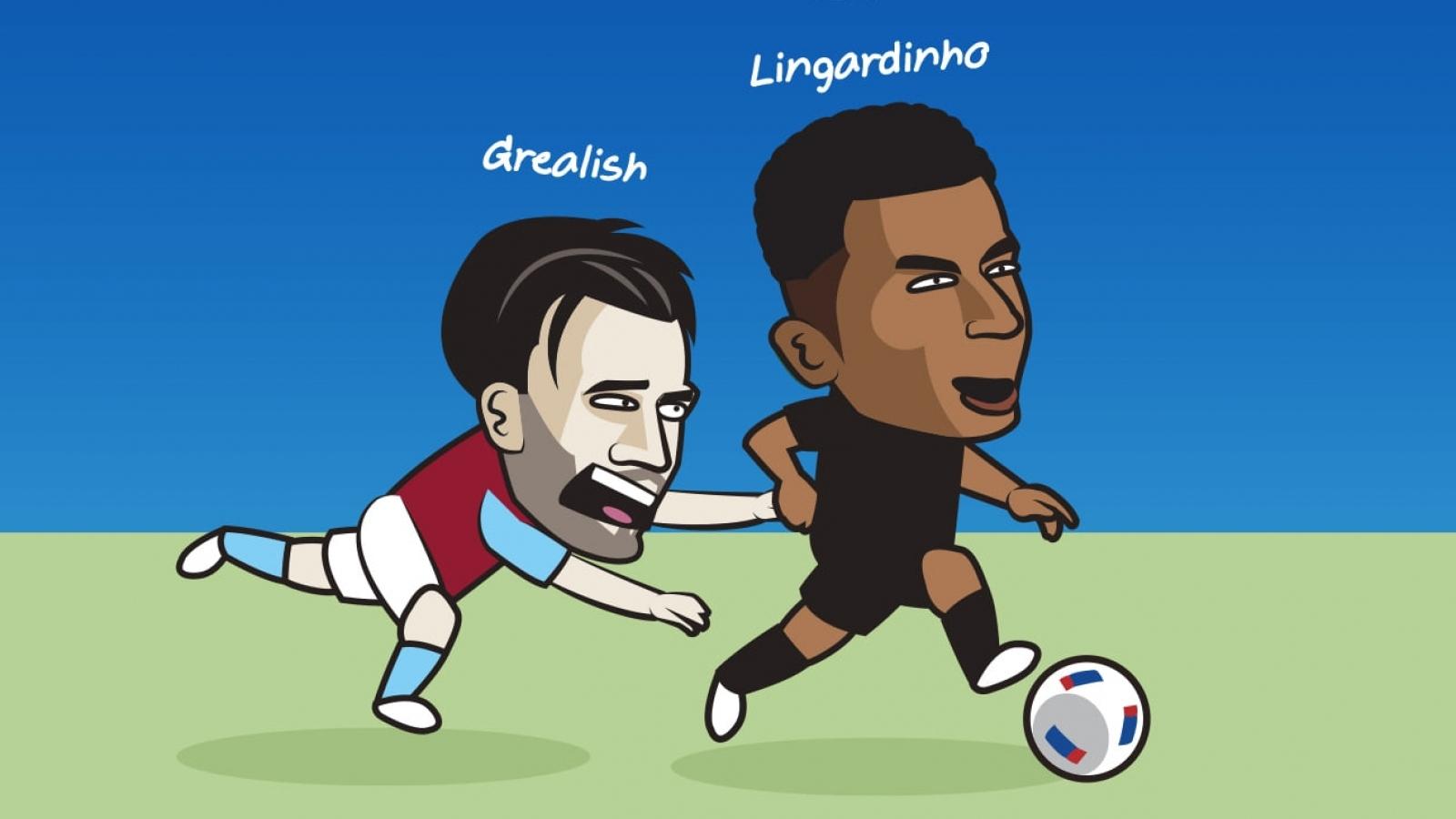 """Biếm họa 24h: """"Lingardinho"""" và David Moyes khiến người hâm mộ ngây ngất"""