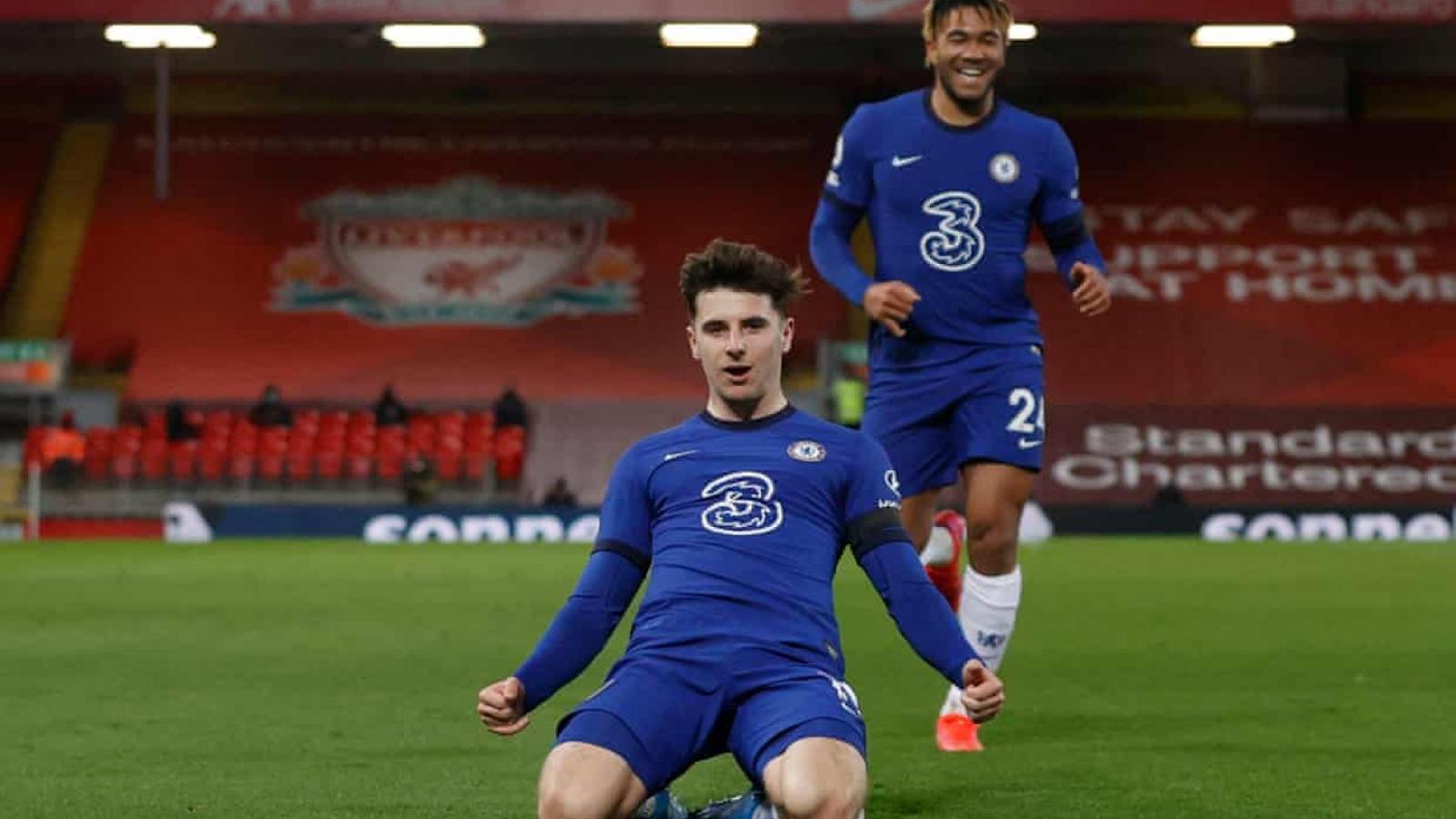 Mason Mount ghi bàn đẹp mắt, Chelsea thắng thuyết phục Liverpool