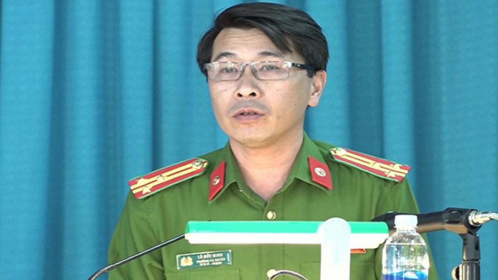 Thanh Hóa xử lý kỷ luật Đảng nguyên Trưởng công an huyện Mường Lát