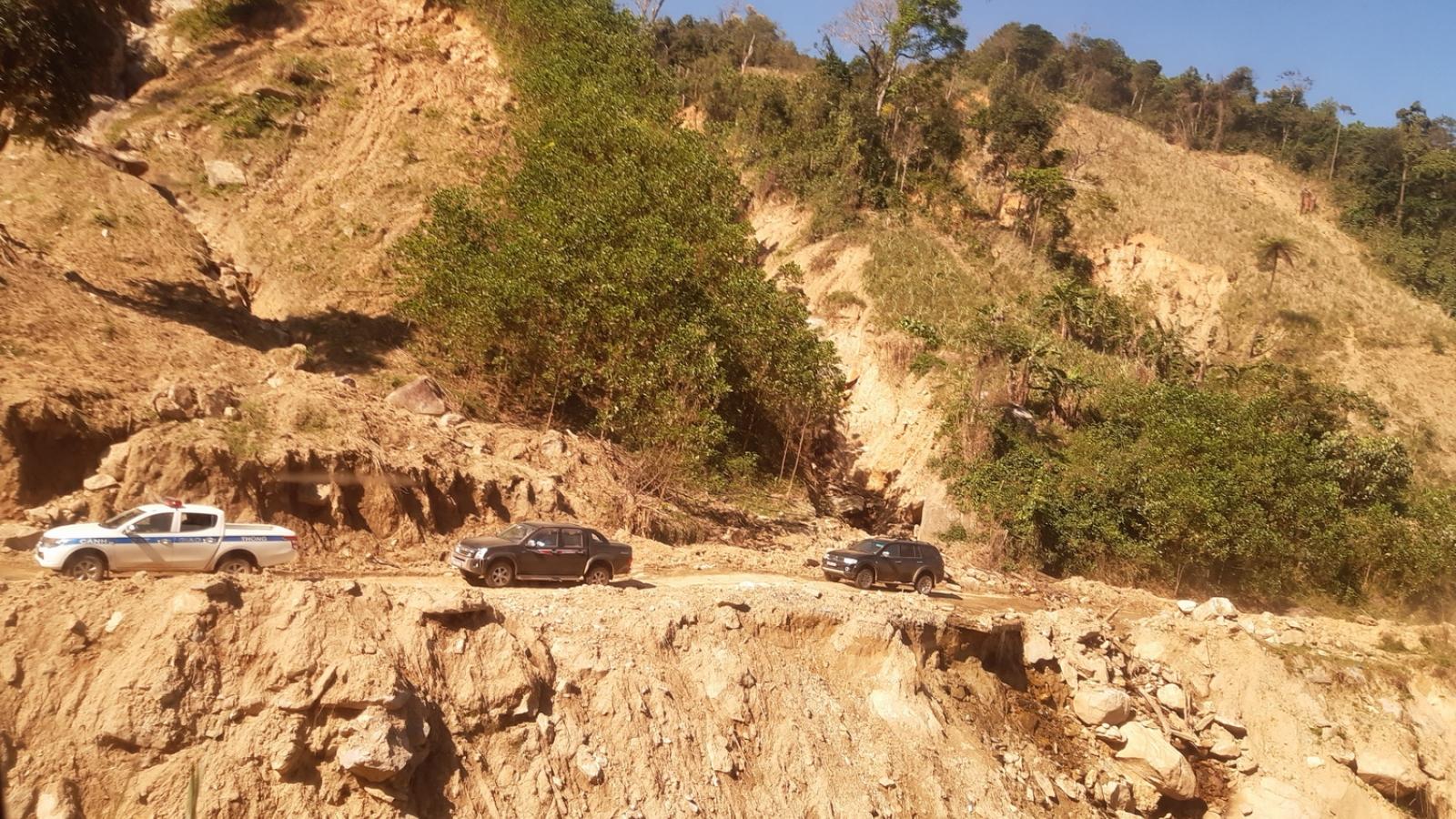 Quảng Nam khẩn trương sắp xếp dân cư, ổn định sinh kế ở vùng sạt lở núi