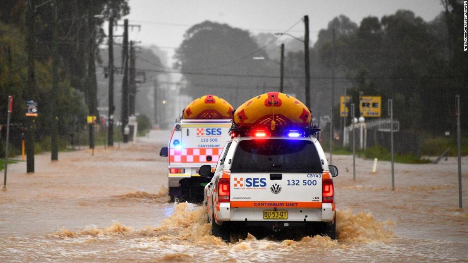 Australia nâng cảnh báo lũ lụt, gần 20.000 người sơ tán