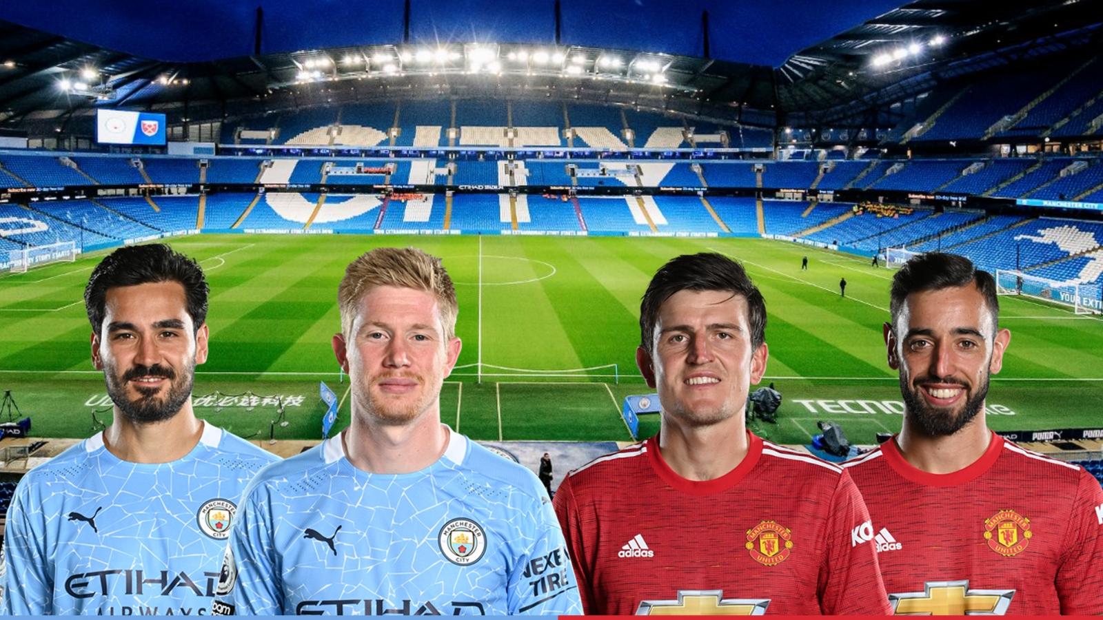 Dự đoán tỷ số, đội hình xuất phát trận Man City - MU