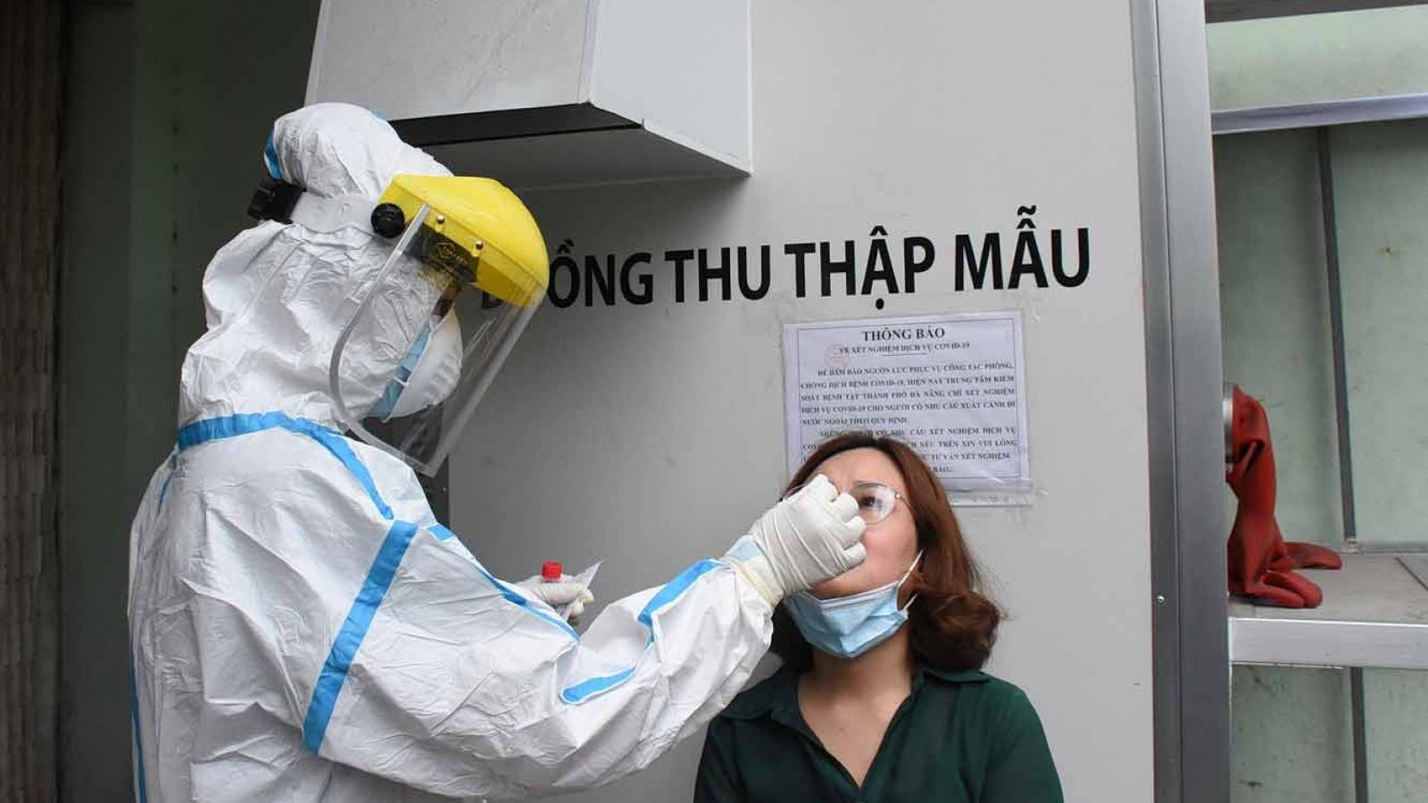 Gần 7.000 nhân viên y tế Đà Nẵng đều âm tính với SARS-CoV-2