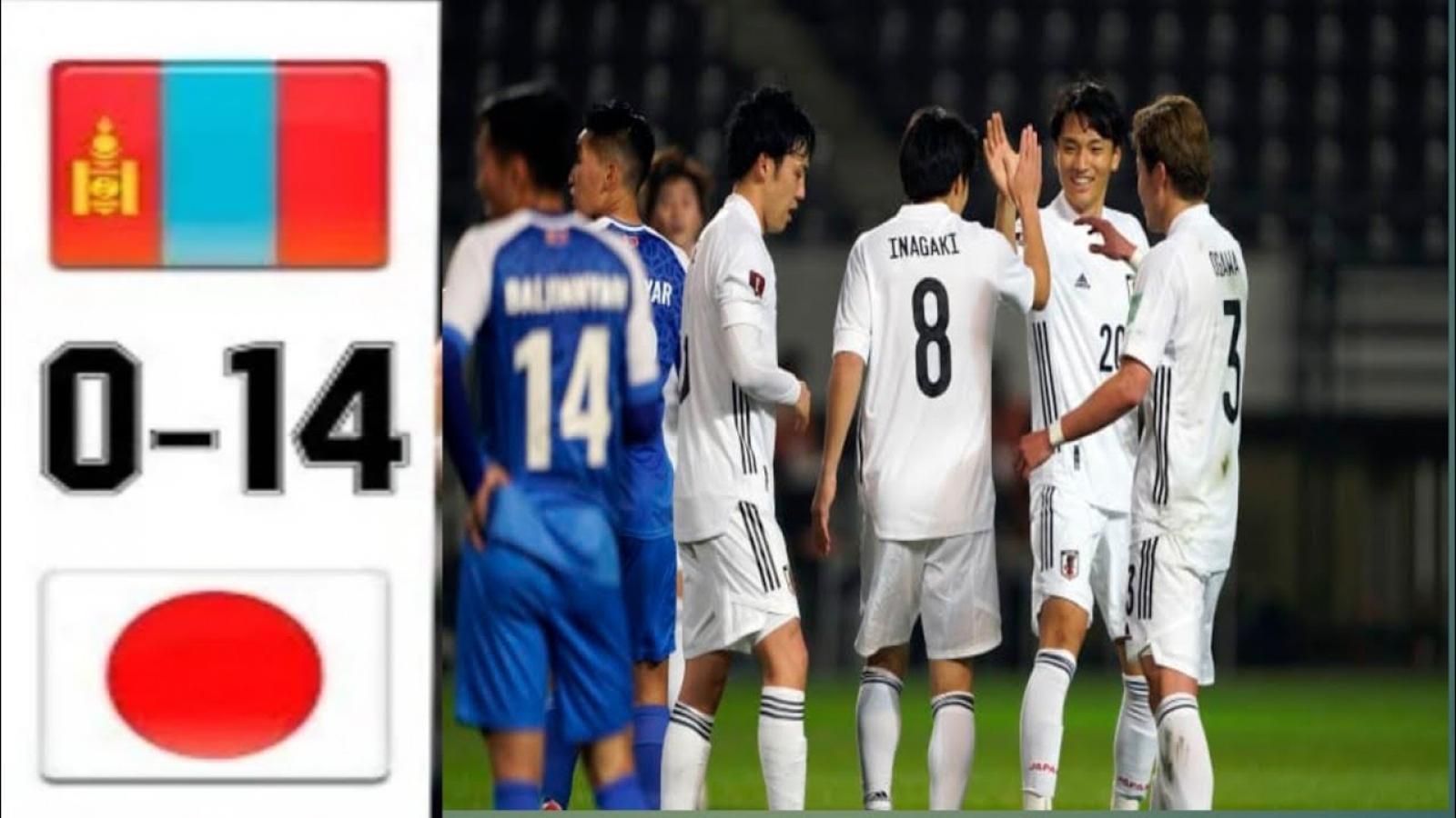 BXH vòng loại World Cup 2022 khu vực châu Á: Nhật Bản tiến gần vé vào vòng 3