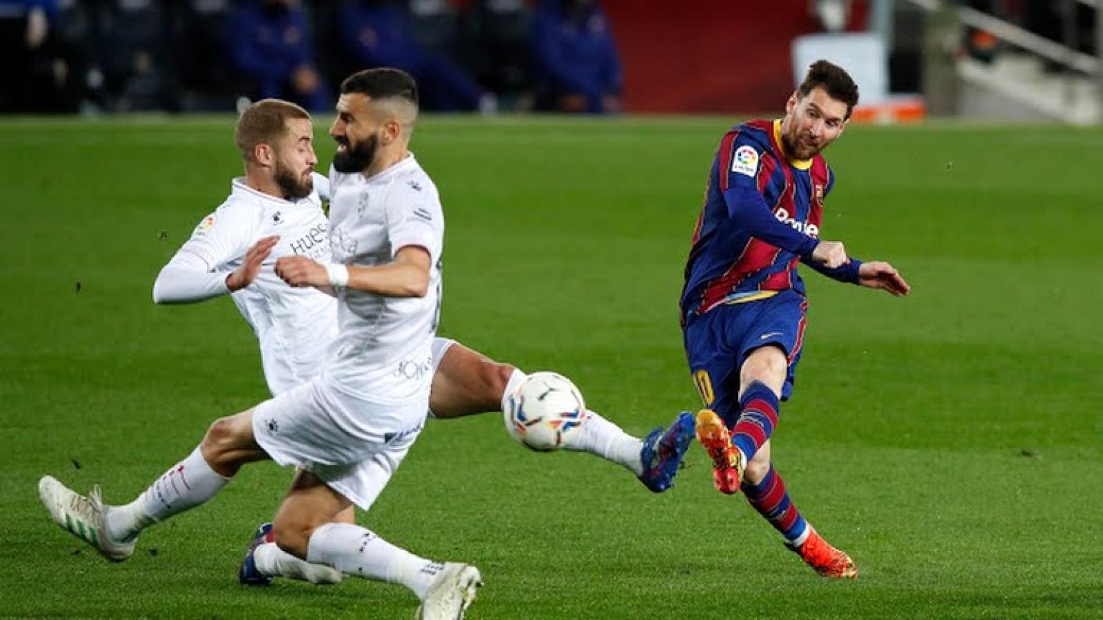 Messi bứt tốc trong cuộc đua vua phá lưới La Liga 2020/2021