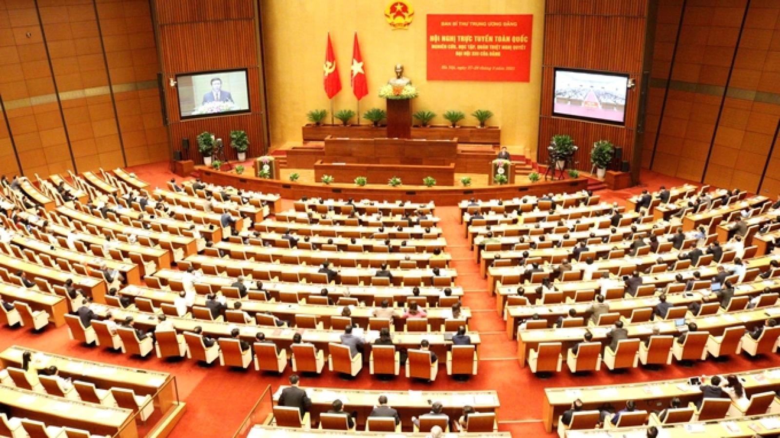 Hôm nay (30/3), Quốc hội miễn nhiệm Chủ tịch Quốc hội