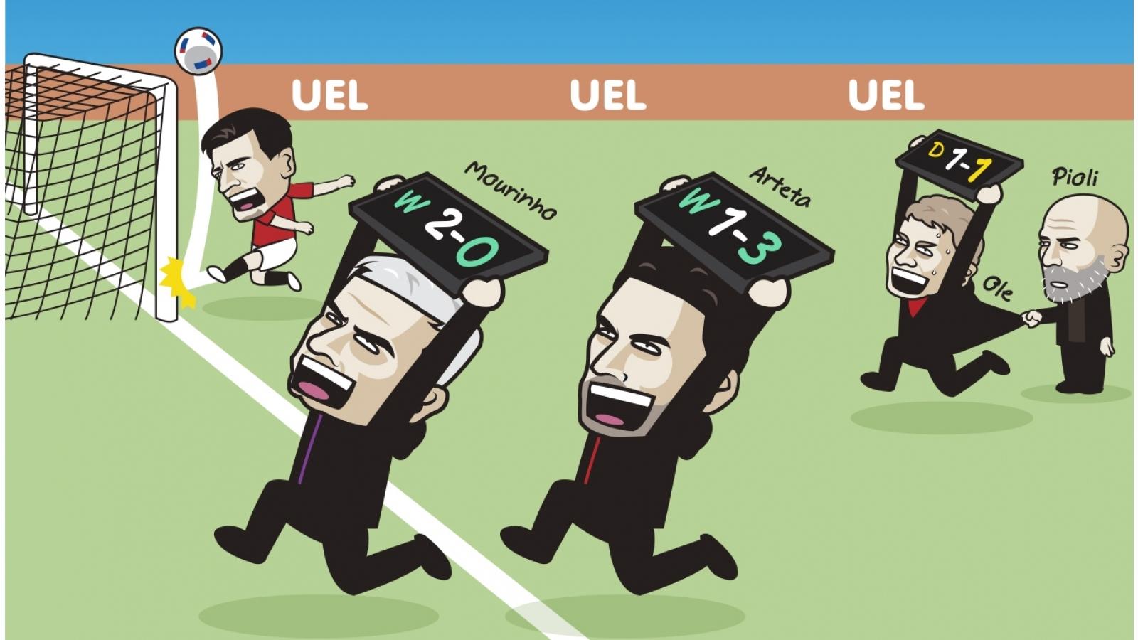 """Biếm họa 24h: MU trổ tài """"tấu hài"""" trước AC Milan"""