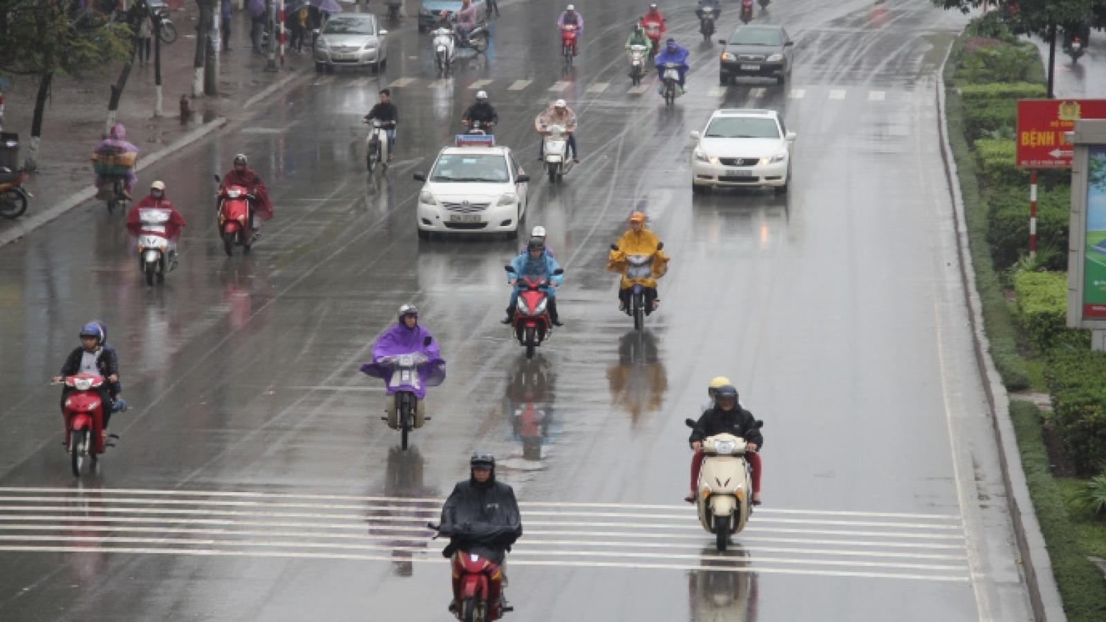 Dự báo thời tiết hôm nay 5/4: Hà Nội mưa rào rải rác, vùng núi Bắc Bộ có mưa vừa và dông