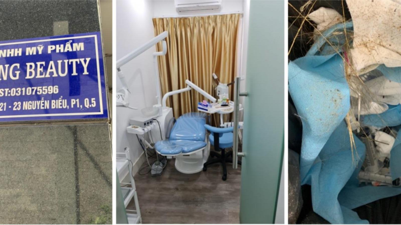 """Báo động tình trạng phẫu thuật thẩm mỹ """"chui"""" tại TPHCM"""