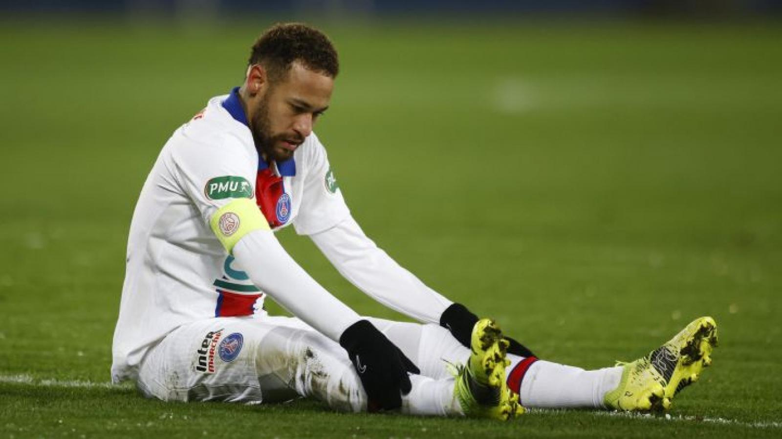 Neymar bỏ lỡ trận đại chiến PSG – Barca
