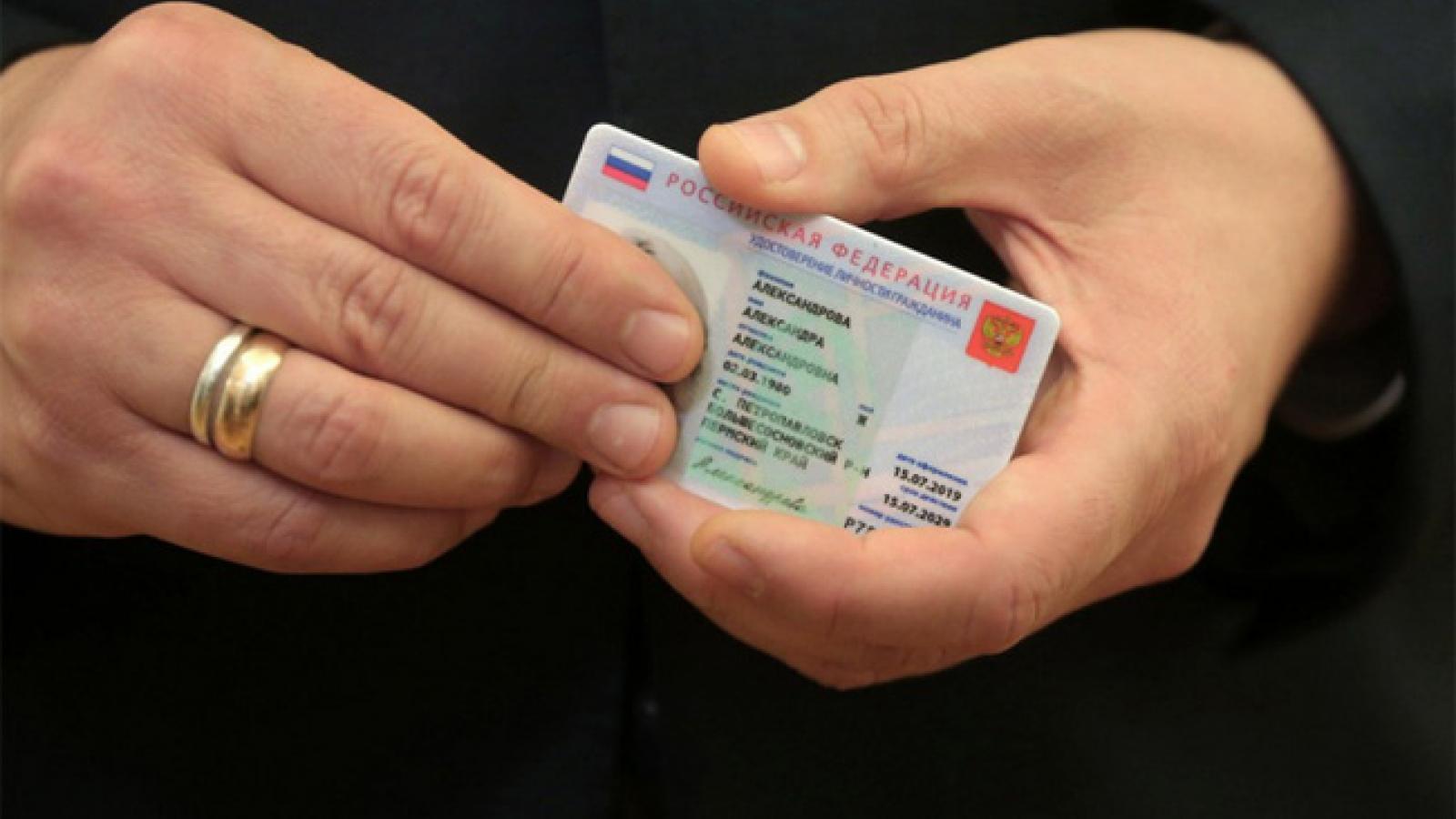 Nga lên kế hoạch sử dụng hộ chiếu điện tử
