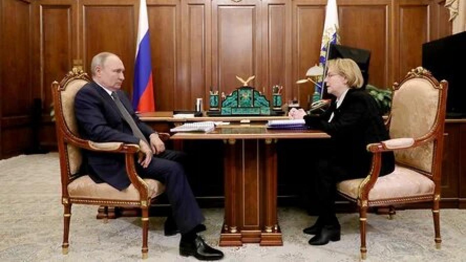 Tổng thống Nga tuyên bố về hiệu quả của vaccine chống lại các biến thể của Covid-19