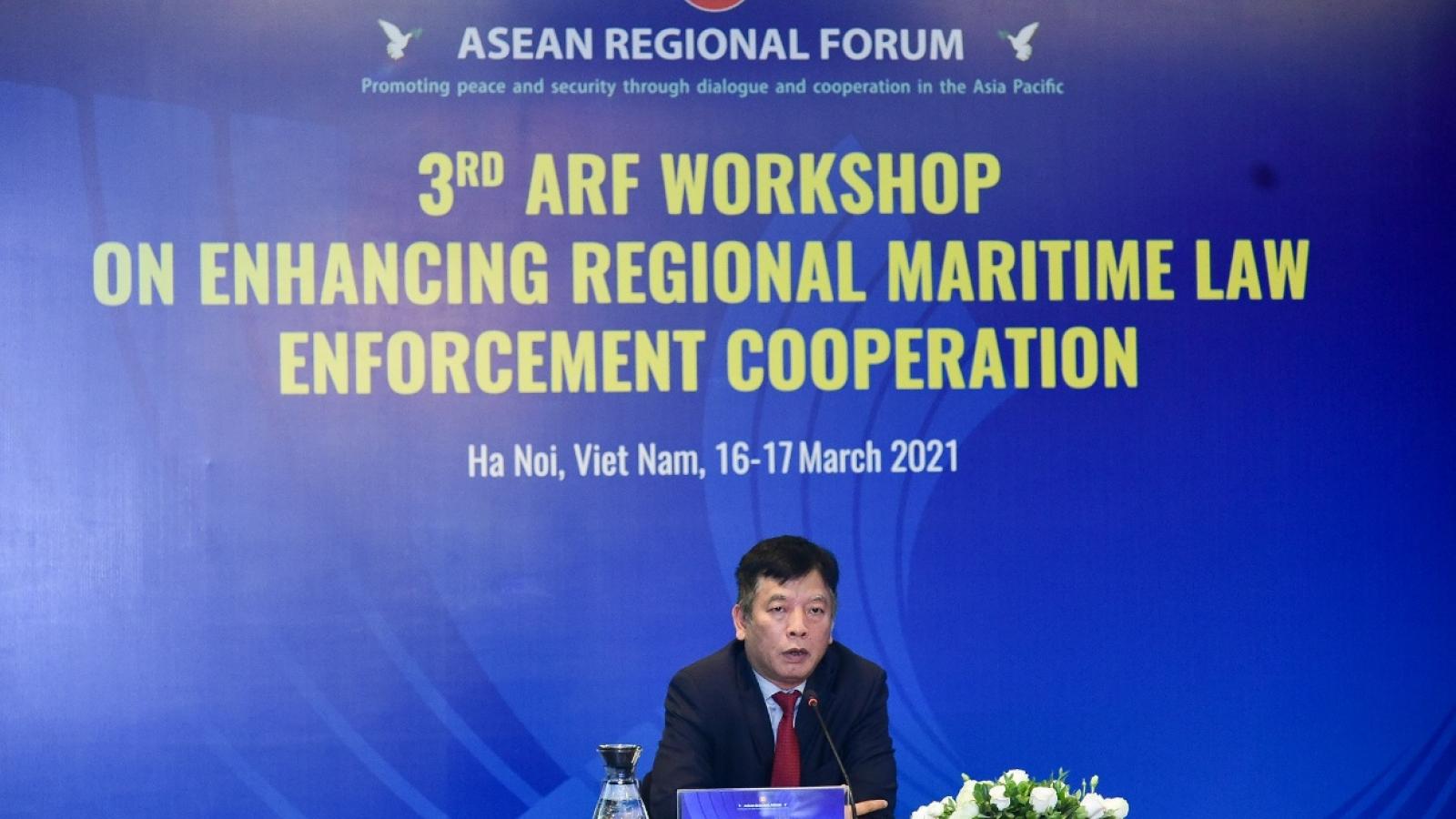 Hội thảo ARF lần thứ 3 về tăng cường hợp tác thực thi pháp luật trên biển