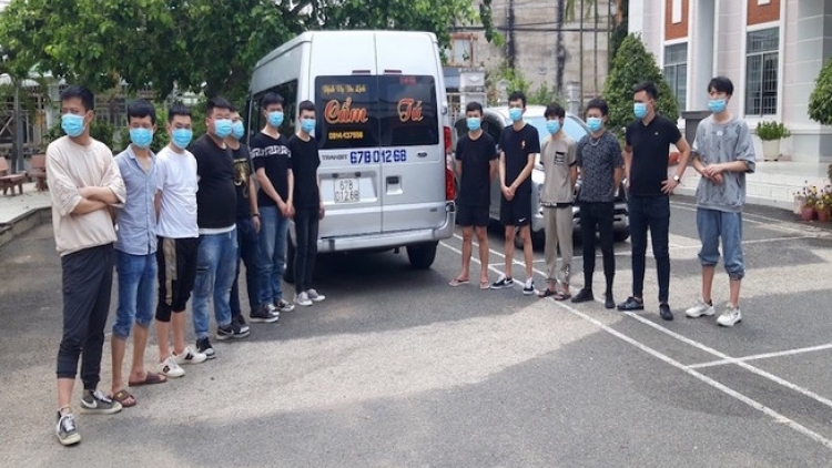 34 Chinese nationals arrested for illegally entering Vietnam