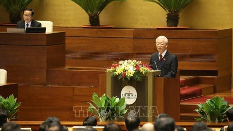 NA, State President, Government present working reports to 14th legislature