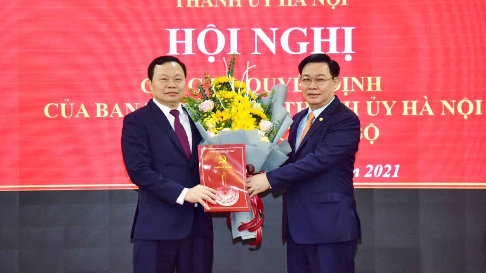 Bí thư Huyện ủy Thanh Oai làm Bí thư Quận ủy Đống Đa, Hà Nội