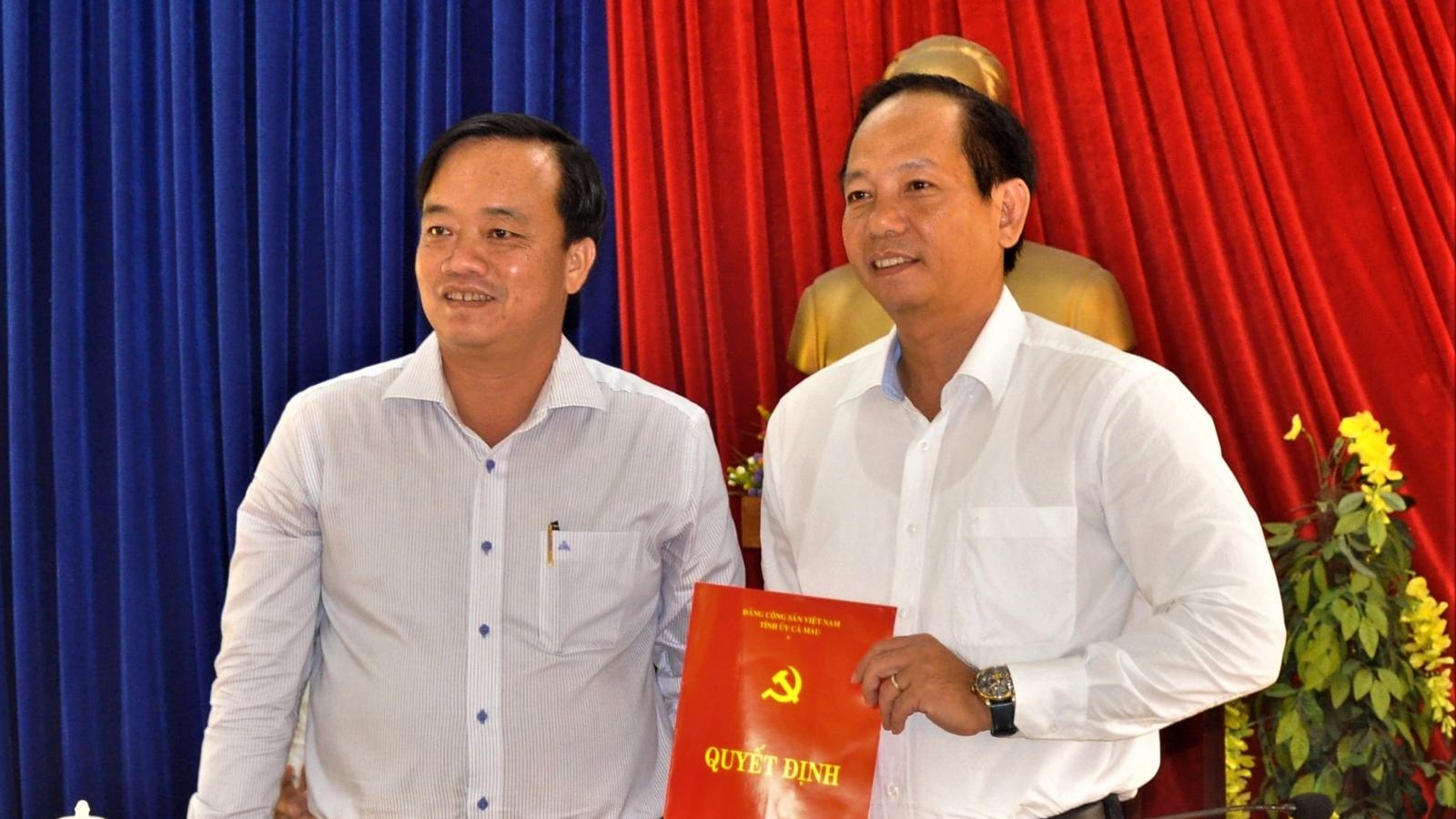 Cà Mau điều động người thay Phó Bí thư Huyện ủy Đầm Dơi