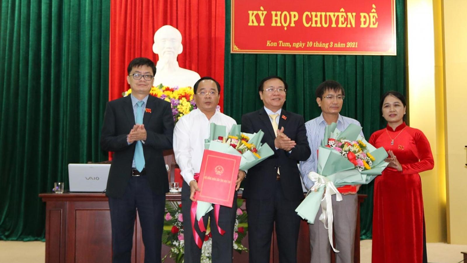 Bí thư Huyện ủy Sa Thầy được bầu làm Phó Chủ tịch tỉnh Kon Tum