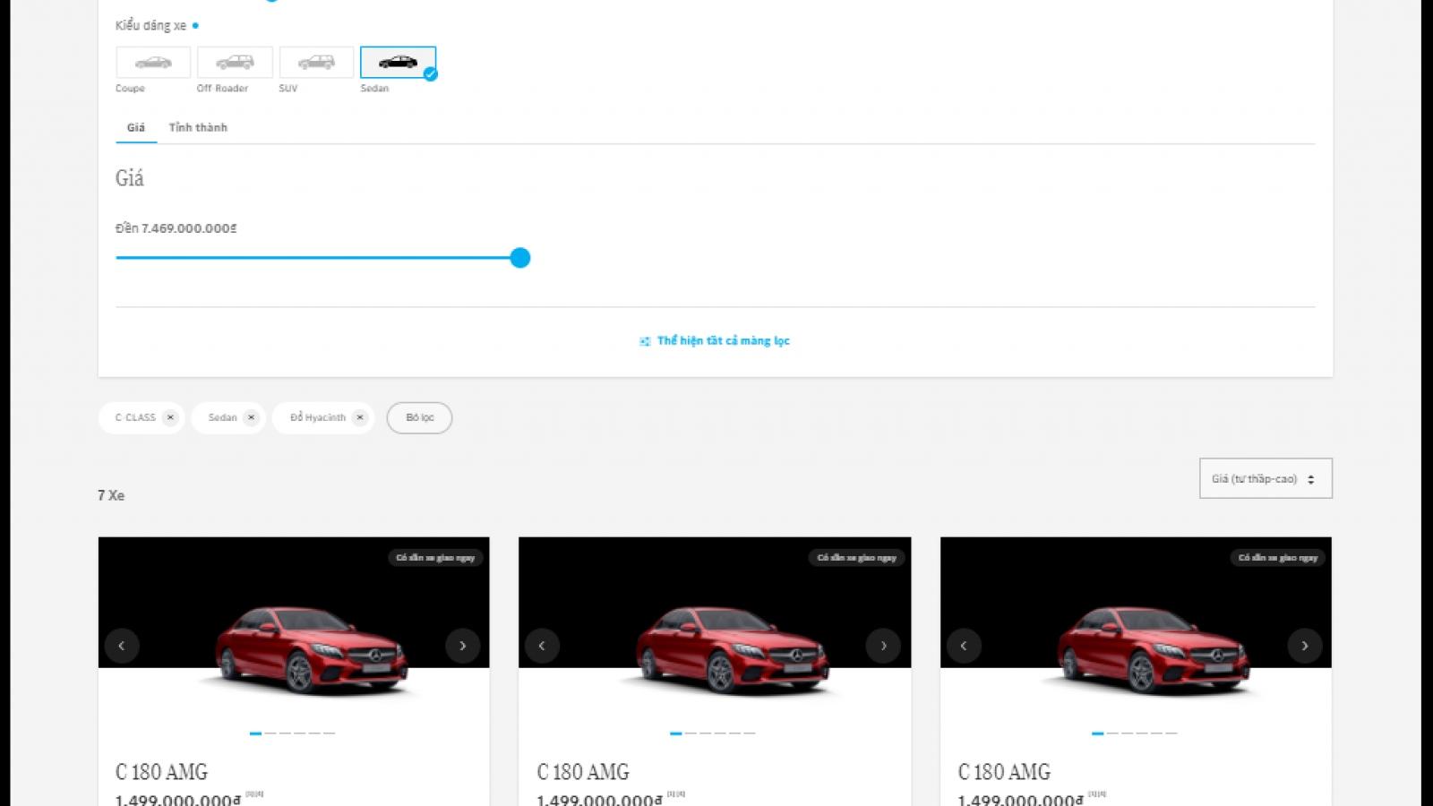 Mercedes-Benz thêm phương thức bán xe trực tuyến qua mạng