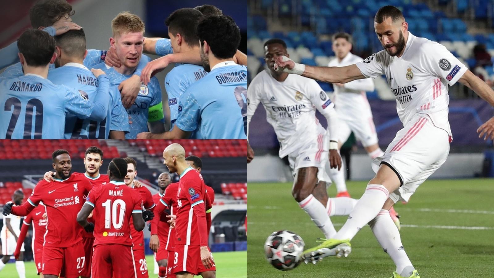 Soi thành tích của 8 đội vào tứ kết Champions League 2020/2021