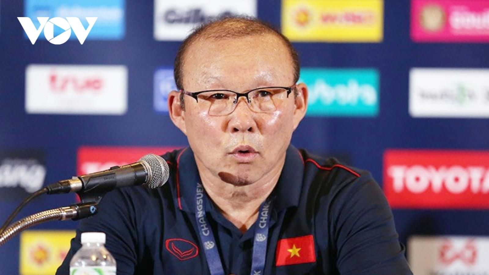 Lãnh đạo VFF lên tiếng về thông tin HLV Park Hang Seo muốn nhập quốc tịch Việt Nam