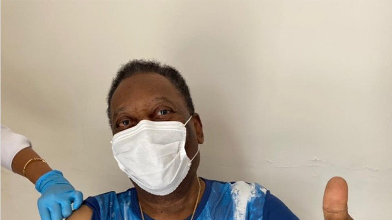 Huyền thoại bóng đá Pele được ưu tiên tiêm vaccine ngừa Covid-19