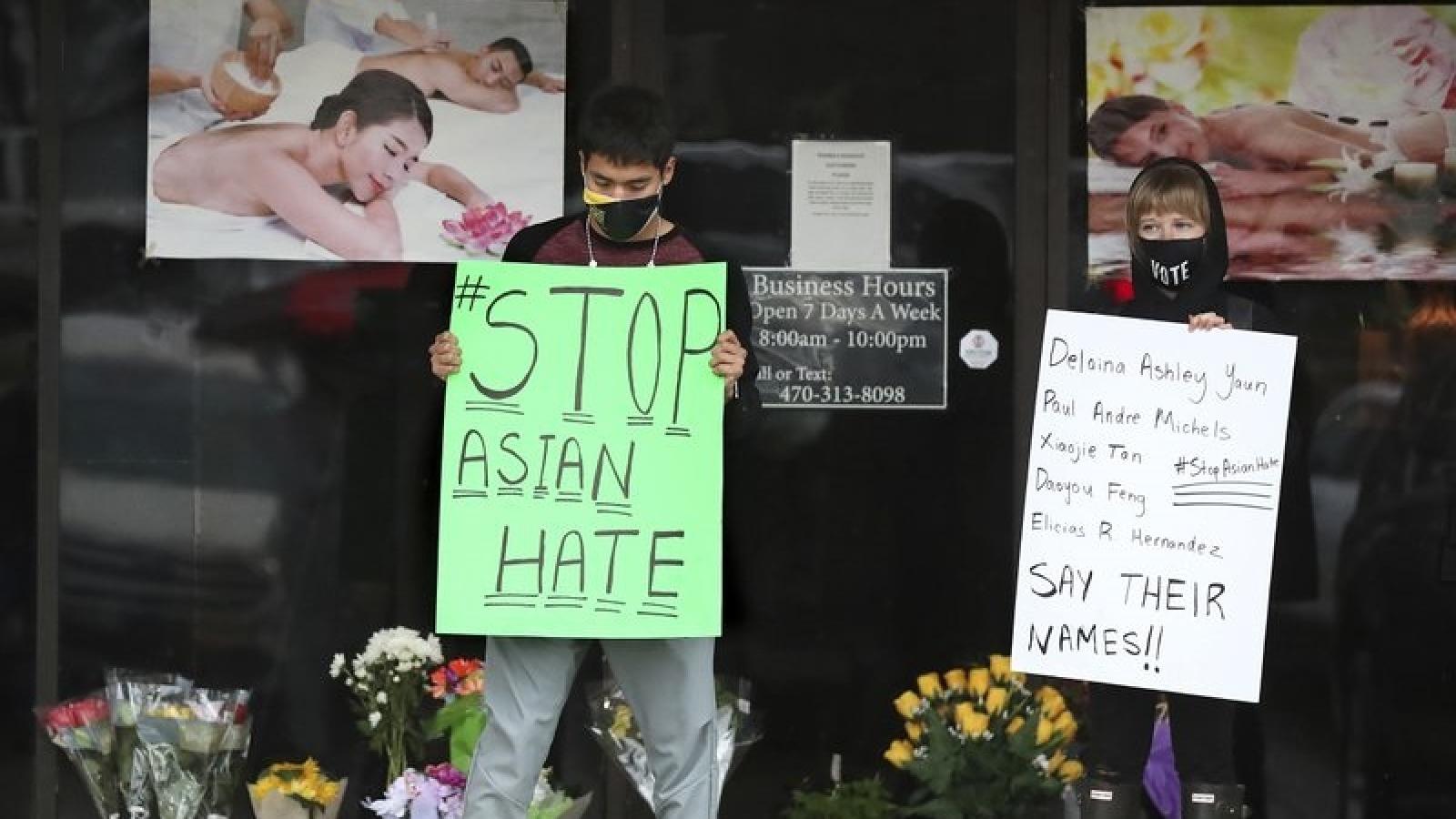 Người Mỹ gốc Á đoàn kết đối đầu phân biệt chủng tộc sau vụ sát hại đau lòng ở Atlanta