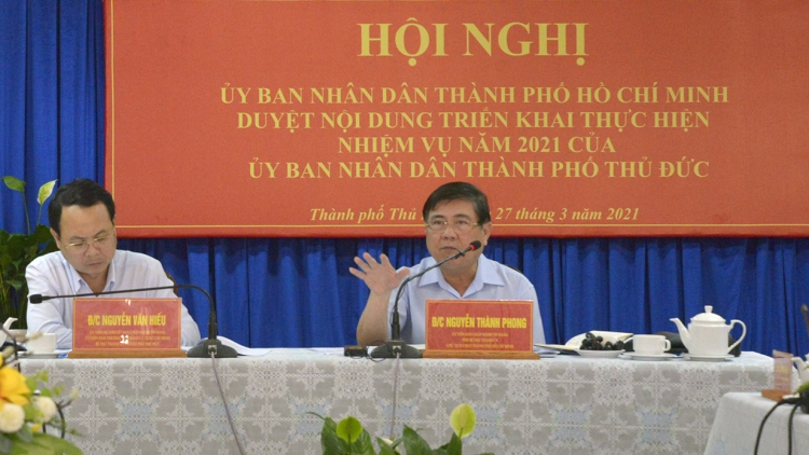 Chủ tịch UBND TPHCM: Giao quyền tối đa cho TP. Thủ Đức phát triển