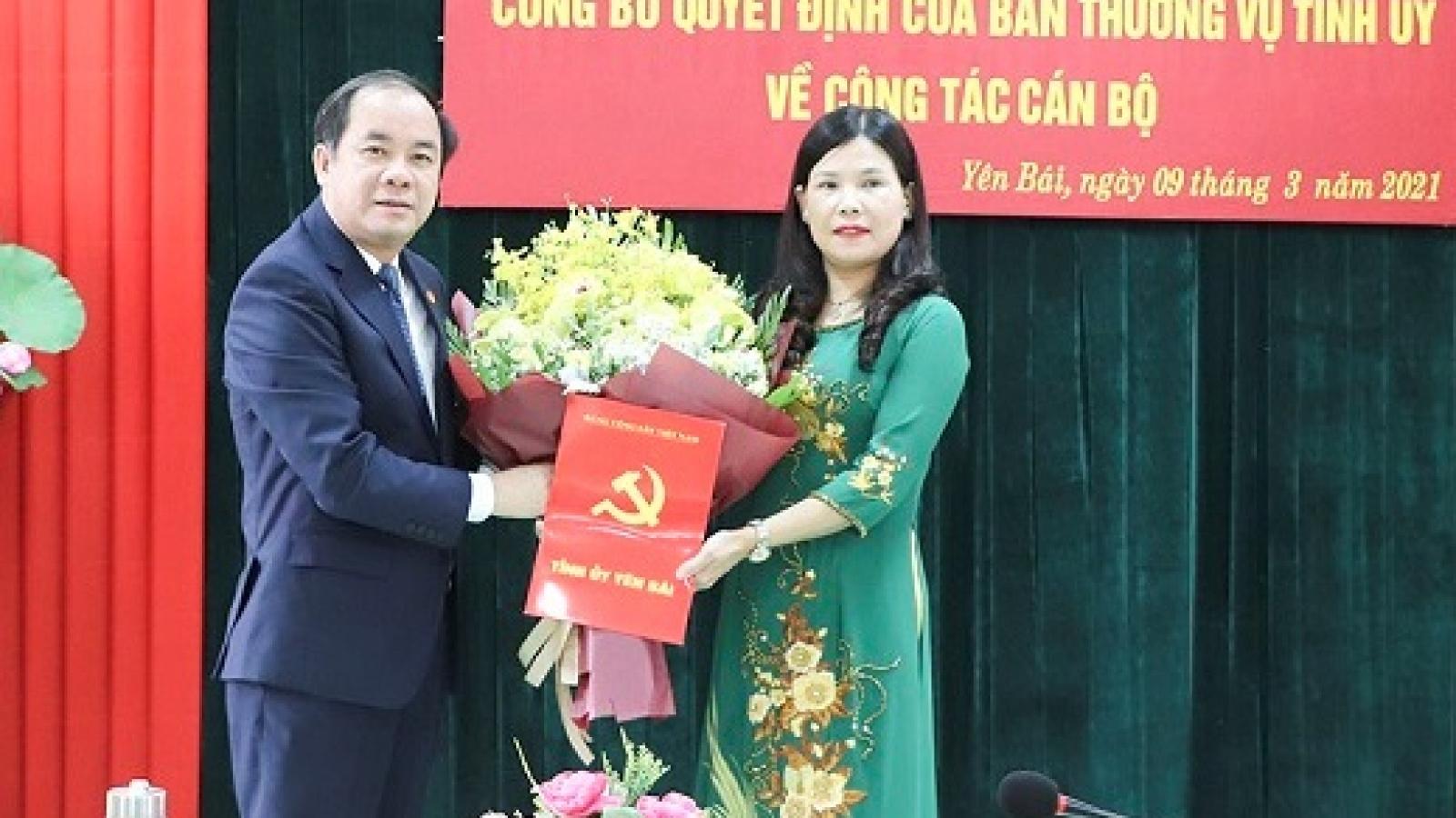 Bà Nguyễn Thị Bích Nhiệm giữ chức Chủ tịch Hội LHPN tỉnh Yên Bái