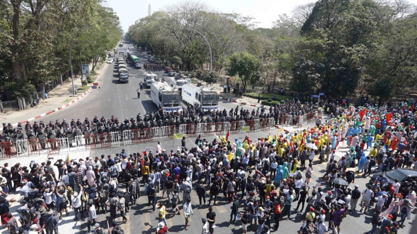 Mỹ và đồng minh trừng phạt các quan chức cấp cao của chính quyền quân sự Myanmar