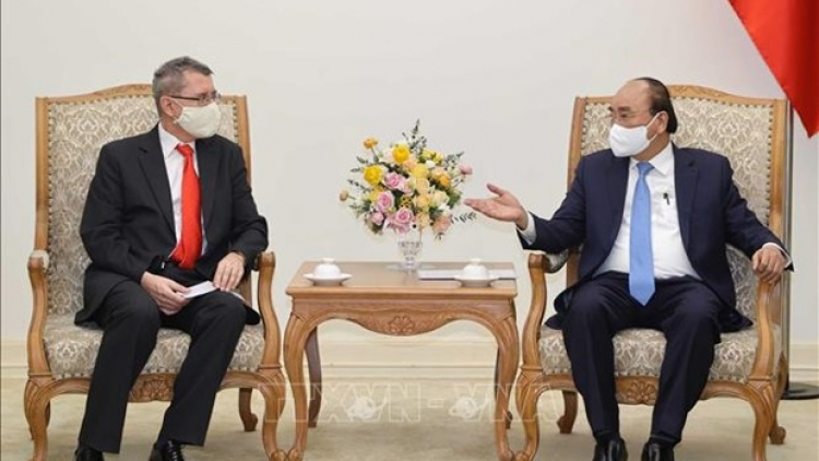 PM receives Austrian Ambassador, AT&S executive