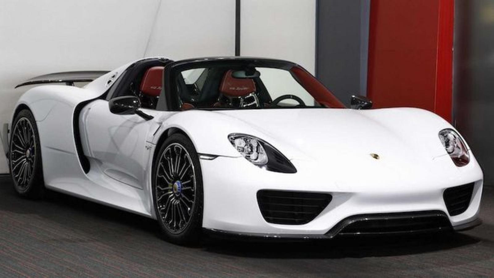 Siêu phẩm Porsche 918 Spyder chính thức có mặt tại Việt Nam