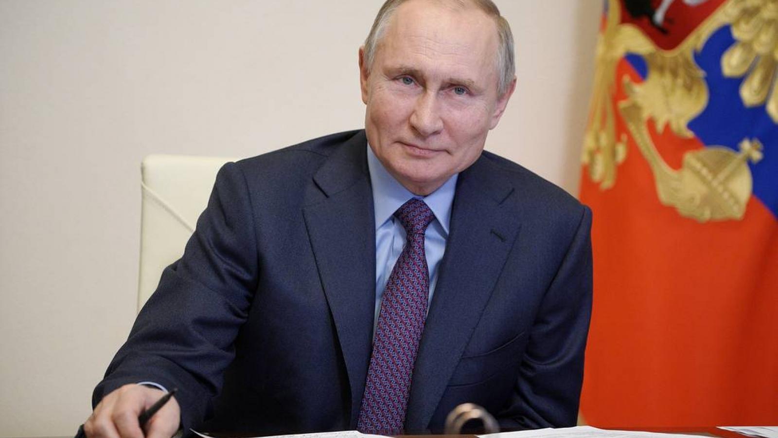 Tổng thống Nga Putin đã tiêm vaccine ngừa COVID-19
