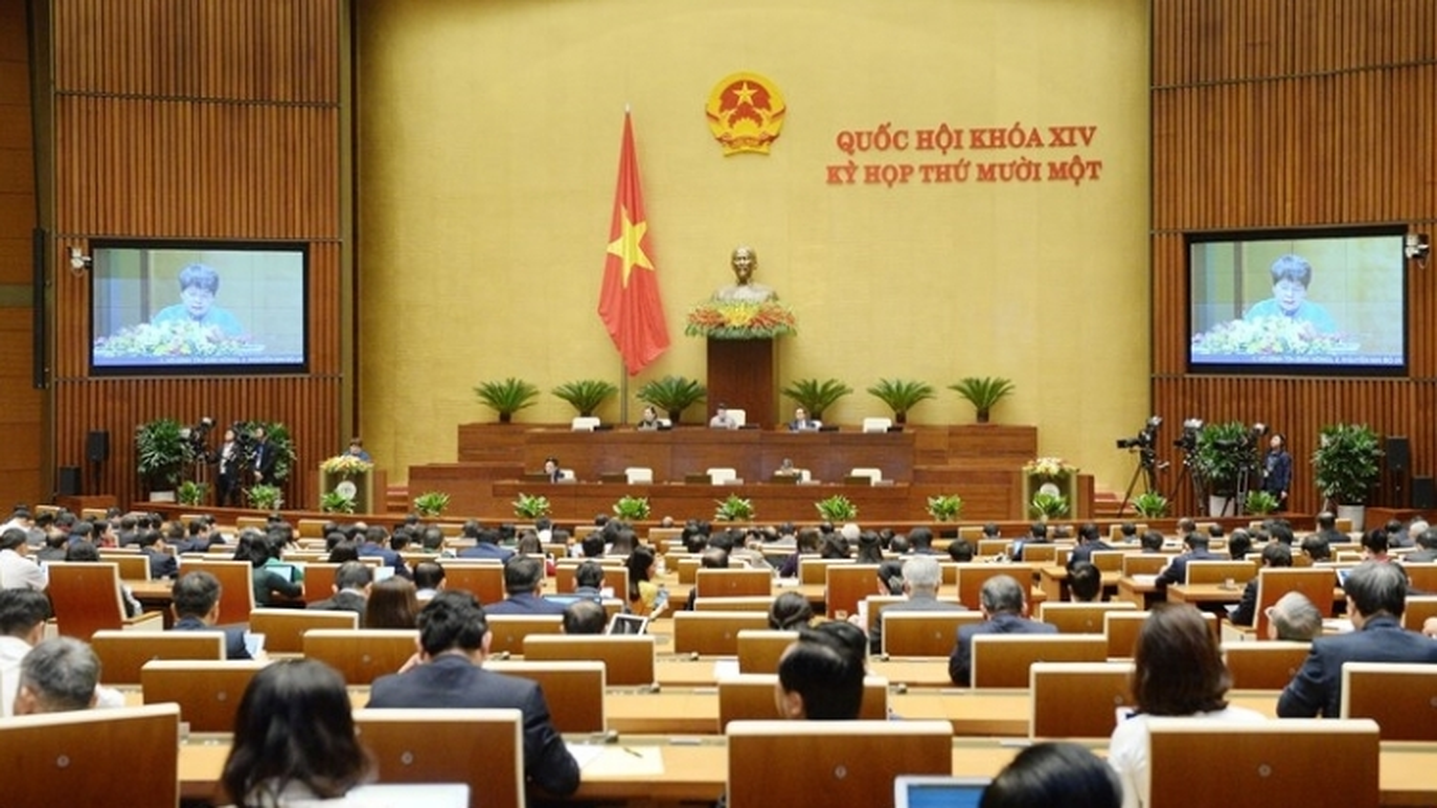 Sáng nay, Quốc hội nghe báo cáo nhiệm kỳ của cơ quan tư pháp