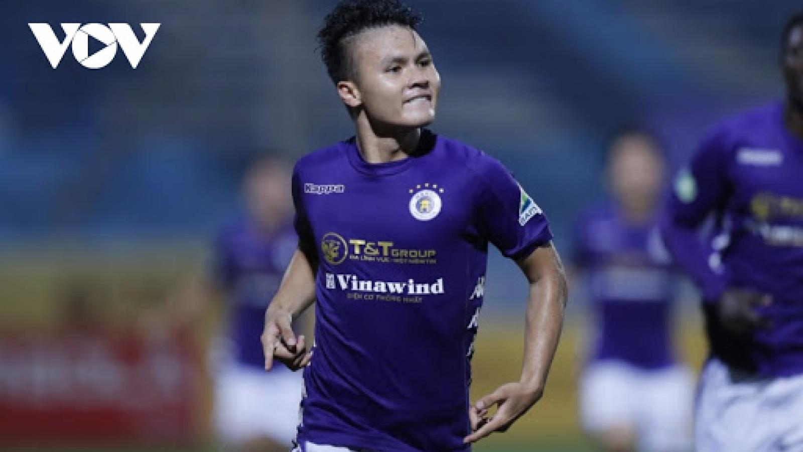 Hà Nội FC báo tin buồn về chấn thương của Quang Hải