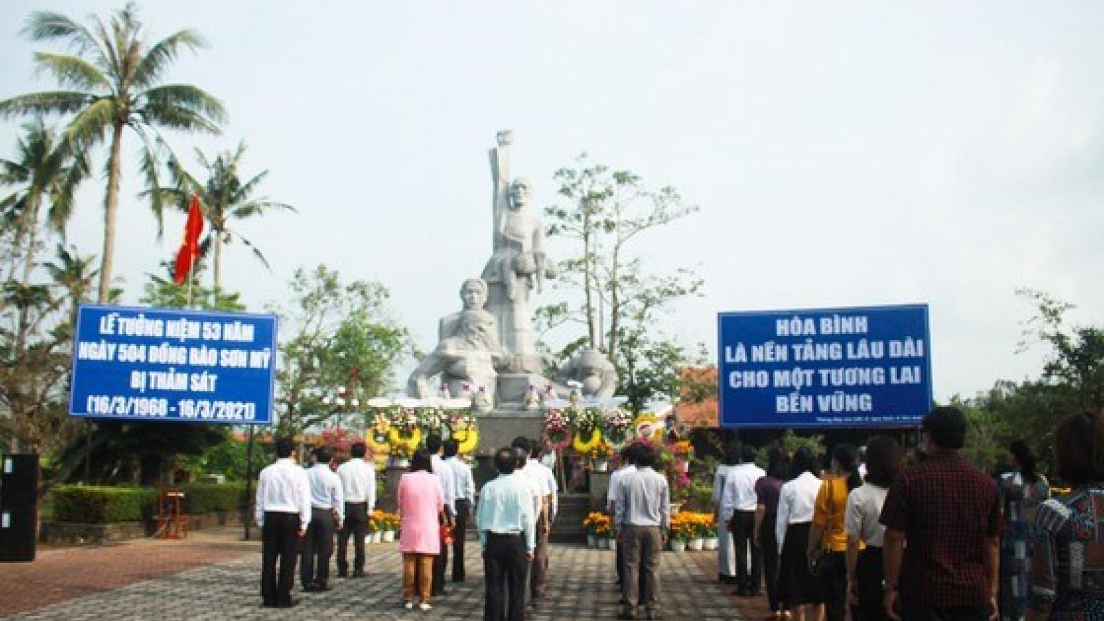 Quang Ngai commemorates victims of Son My massacre