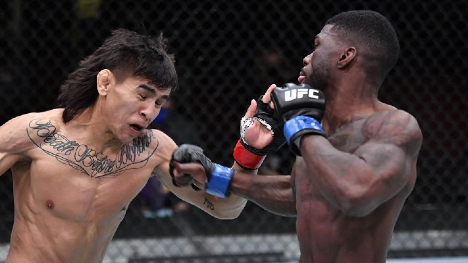 """Ra đòn chậm 1 tích tắc, võ sĩ UFC nhận cái kết """"đắng lòng"""""""
