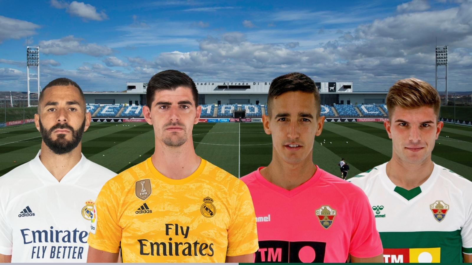 Dự đoán tỷ số, đội hình xuất phát trận Real Madrid - Elche