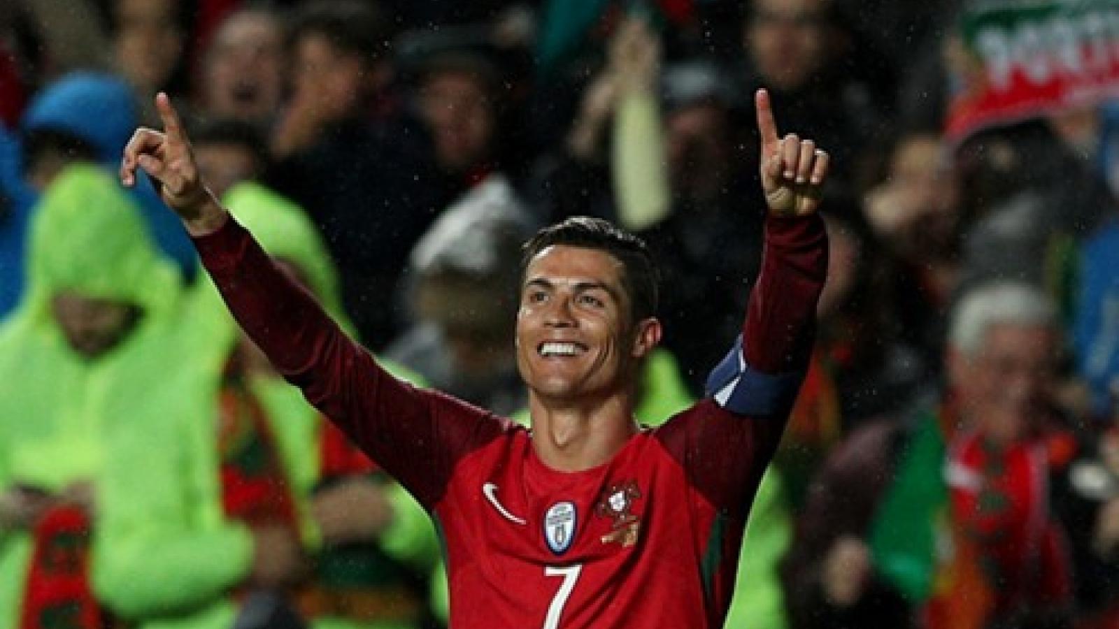 Ngày này năm xưa: Ronaldo đạt cột mốc lịch sử tại ĐT Bồ Đào Nha