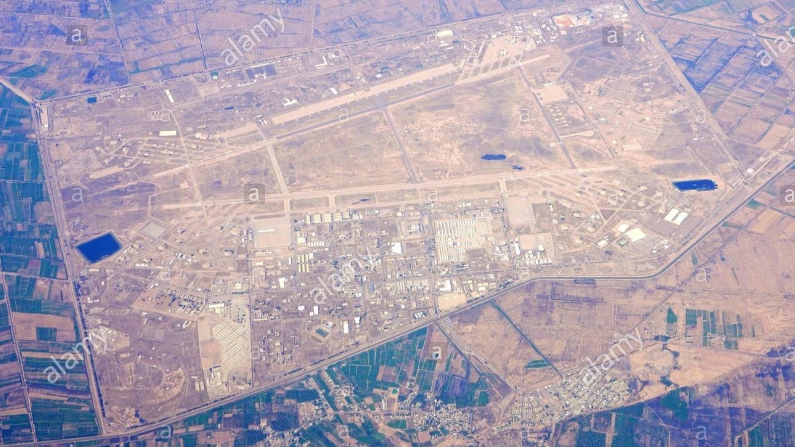 Căn cứ không quân Iraq lại bị tấn công bằng rocket