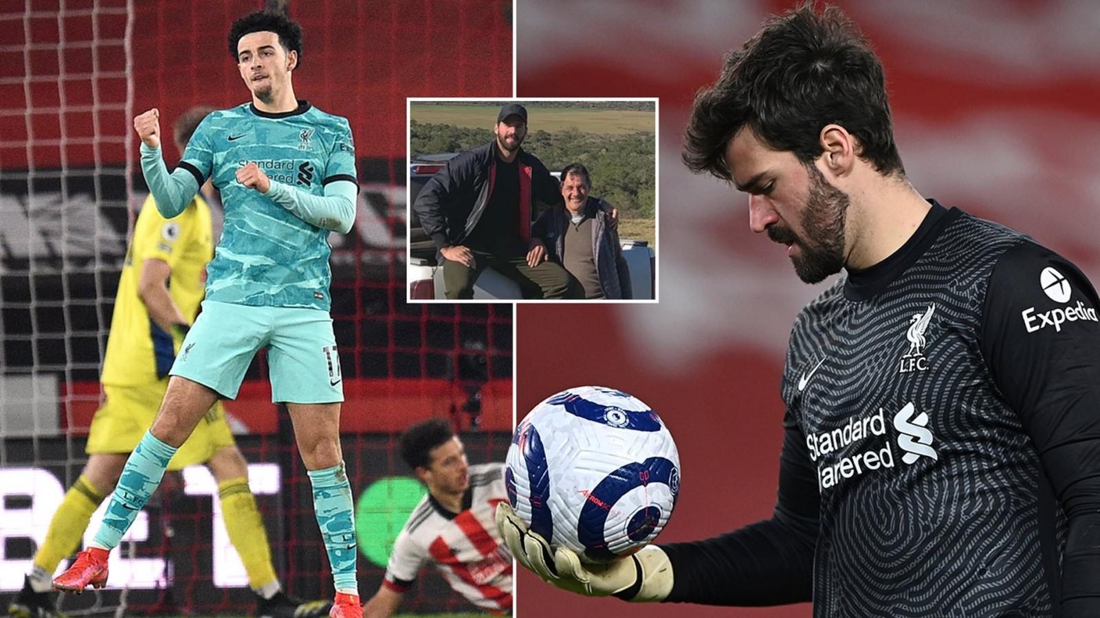 Sao trẻ Liverpool có hành động ấm áp với thủ môn Alisson sau bi kịch gia đình