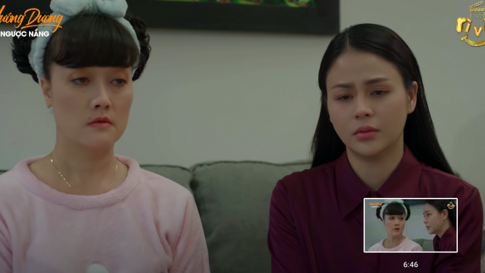 """Rơi nước mắt xem cảnh mẹ con Vân Dung, Đình Tú trong """"Hướng dương ngược nắng"""" tập 42"""