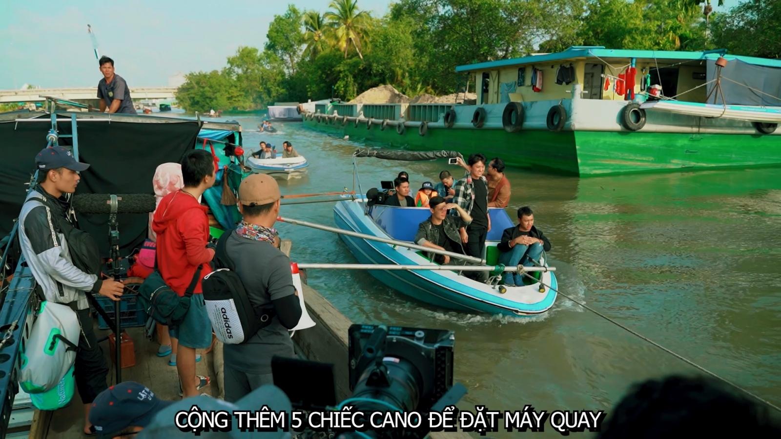 """Lý Hải tung clip Lật mặt: 48H đậm chất """"Fast & Furious"""" miền sông nước"""